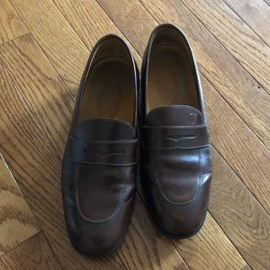 Tods brown loafers size 37